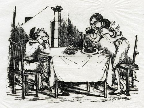 Imagen de Sin Título (Hombres Sentados a la Mesa)