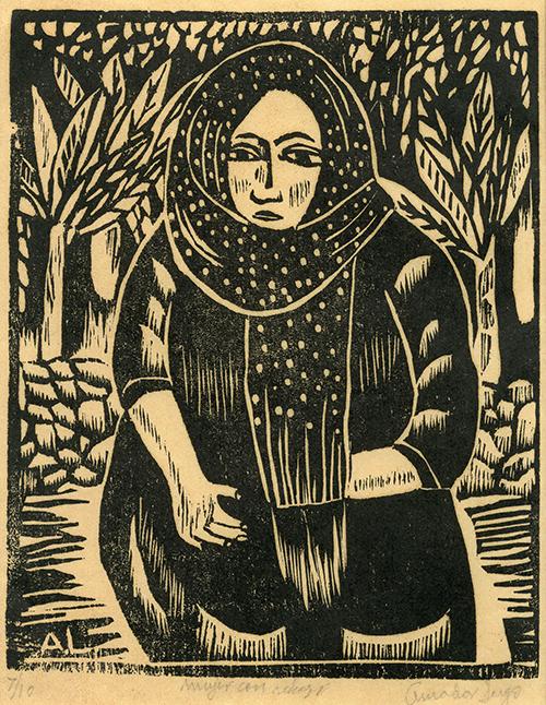 Imagen de Mujer con Rebozo
