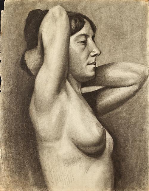 Imagen de Estudio del Modelo al Natural, Mujer